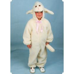 Karnevalový kostým OVEČKA - kombinéza s kapucí