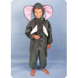 Karnevalový kostým SLON - kombinéza s kapucí