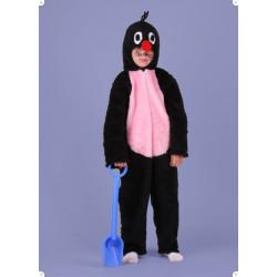 Karnevalový kostým KRTEK - kombinéza s kapucí