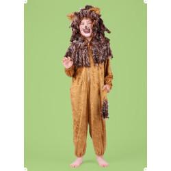 Karnevalový kostým LEV II - kombinéza s kapucí