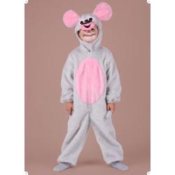 Karnevalový kostým MYŠKA - kombinéza s kapucí