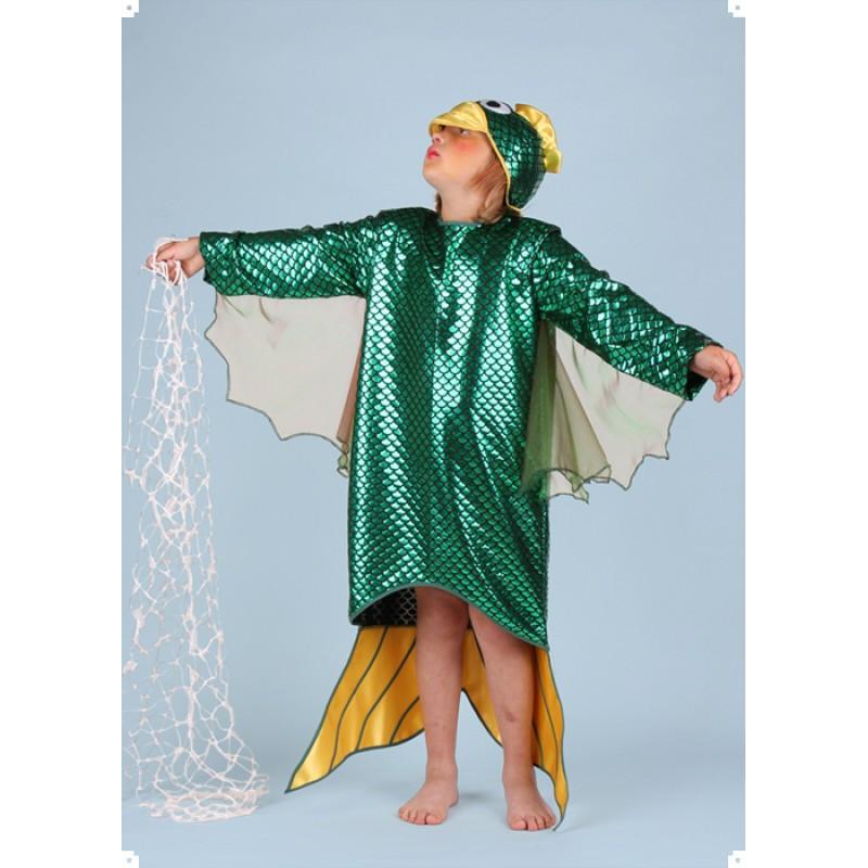 Karnevalový kostým RYBA - šaty s čepicí