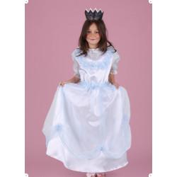 Karnevalový kostým PRINCEZNA MODRÁ - šaty