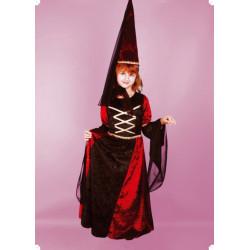 Karnevalový kostým BARONKA S KLOBOUKEM - šaty, klobouk