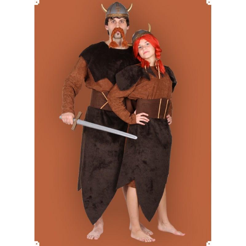 Karnevalový kostým VIKING - šaty