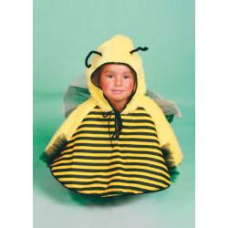 Karnevalový kostým VČELKA - pelerína