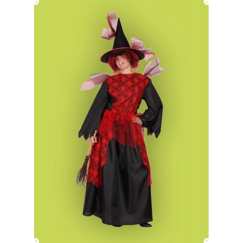Karnevalový kostým Čarodějnice V - šaty,klobouk