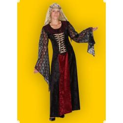 Karnevalový kostým Hradní dáma - šaty