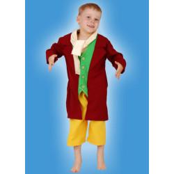 Karnevalový kostým HOBBIT - kalhoty, horní díl, vázačka