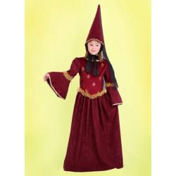 Karnevalový kostým HRADNÍ DÁMA - šaty, klobouk