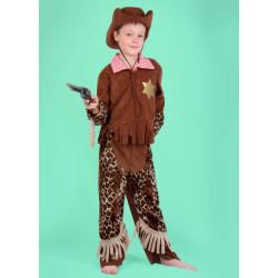 Karnevalový kostým KOVBOJ ŠERIF - kalhoty, horní díl