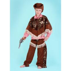 Karnevalový kostým KOVBOJ - kalhoty, horní díl