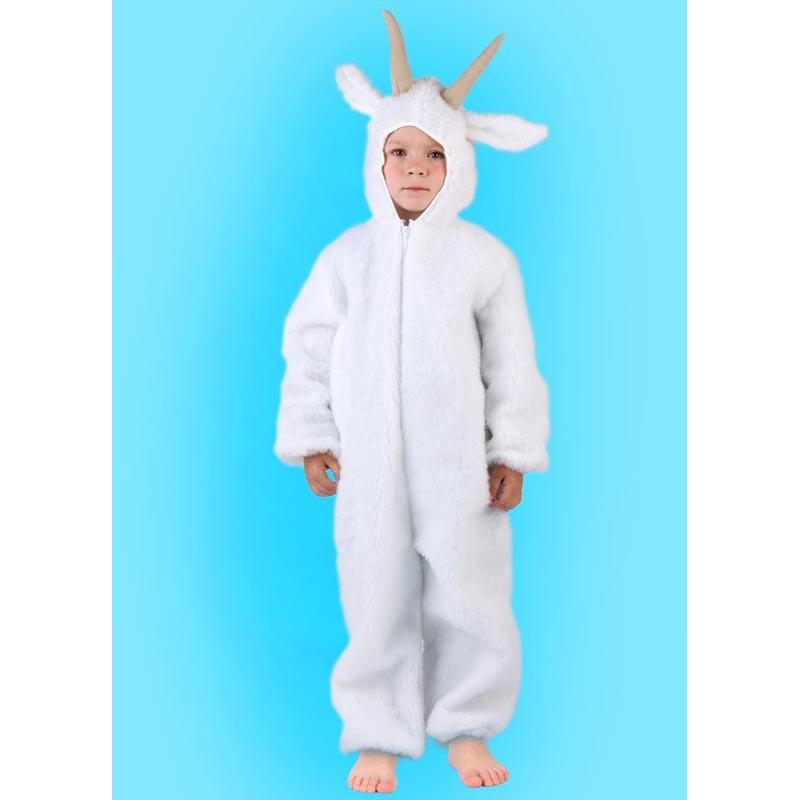 Karnevalový kostým Koza - kombinéza s kapucí