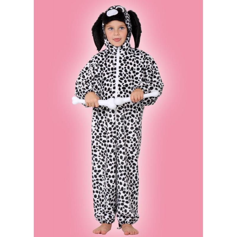 Karnevalový kostým DALMATIN - overal s kapucí