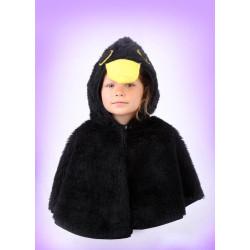 Karnevalový kostým Kos - pelerína s kapucí