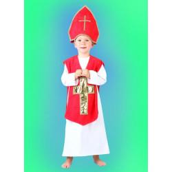 Kostým Mikuláš dětský - košile,ornát,čepice