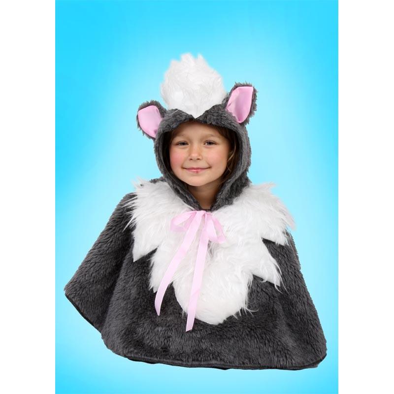 Karnevalový kostým Kočka - pelerína s kapucí