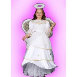 Kostým Anděl zlatý - šaty
