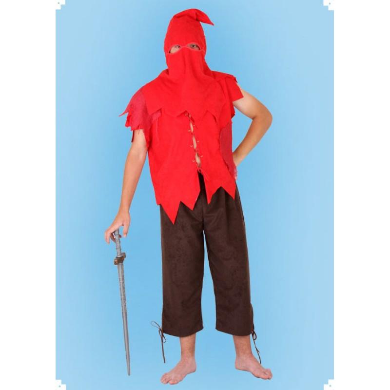 Karnevalový kostým Kat - horní díl, kalhoty, kukla