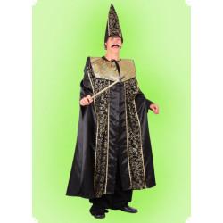 Karnevalový kostým Kouzelník - plášť, čepice