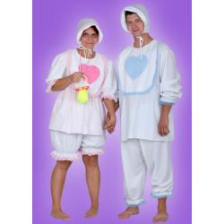 Karnevalový kostým MIMINO DÍVKA - horní díl, kalhoty, čepice