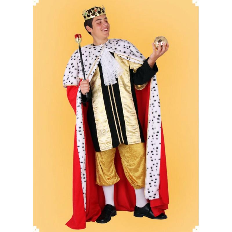Karnevalový kostým Král - plášť