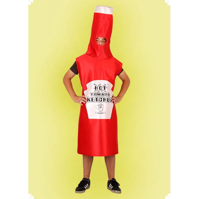 Karnevalový kostým KEČUP - oblek