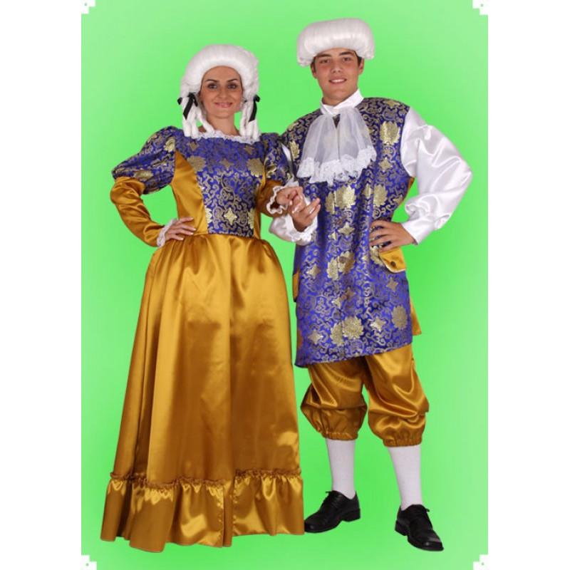 Karnevalový kostým Baronka - šaty