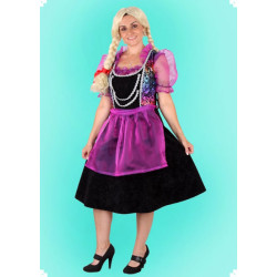 Karnevalový kostým Dirndl 1 - šaty, zástěrka