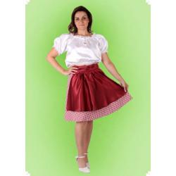 Karnevalový kostým Dirndl 3 - sukně, halenka, zástěrka