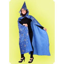 Karnevalový kostým Čaroděj plášť - plášť, klobouk