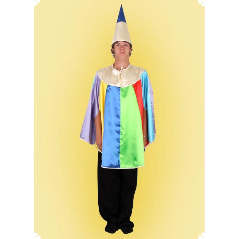 Karnevalový kostým Pastelka - pelerína, klobouk