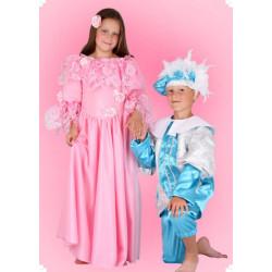 Karnevalový kostým Princezna Růženka - šaty