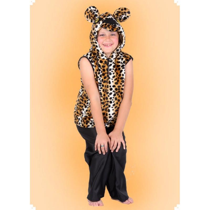 Karnevalový kostým Leopard - vesta
