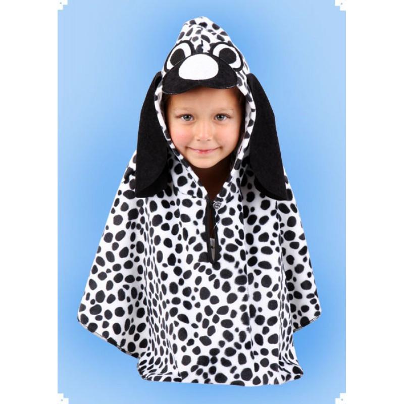 Karnevalový kostým Dalmatin - pelerína