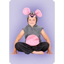 Karnevalový kostým Myška - vesta skapucí