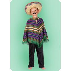 Karnevalový kostým Pončo - horní díl