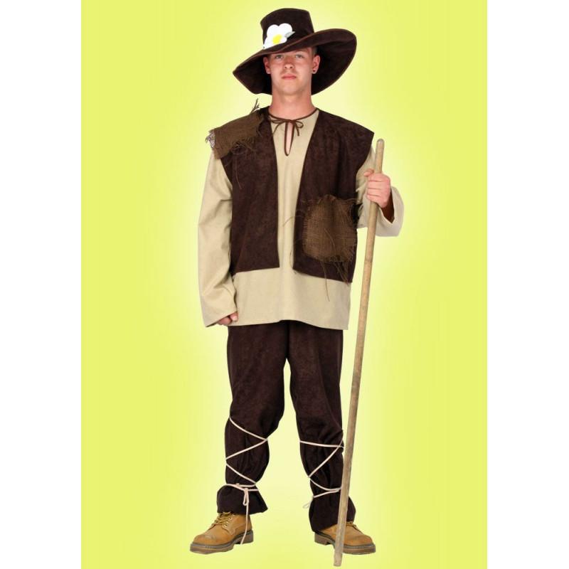 Karnevalový kostým PASÁČEK - horní díl, vesta, kalhoty, klobouk