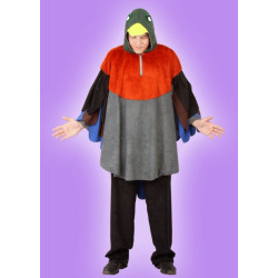 Karnevalový kostým KACHNA - pelerína s kapcí