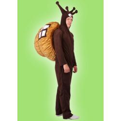 Karnevalový kostým ŠNEK - overal s kapucí, ulita