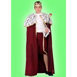 Karnevalový kostým KRÁL - plášť, košile, kalhoty