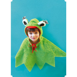 Karnevalový kostým ŽABKA - pelerína