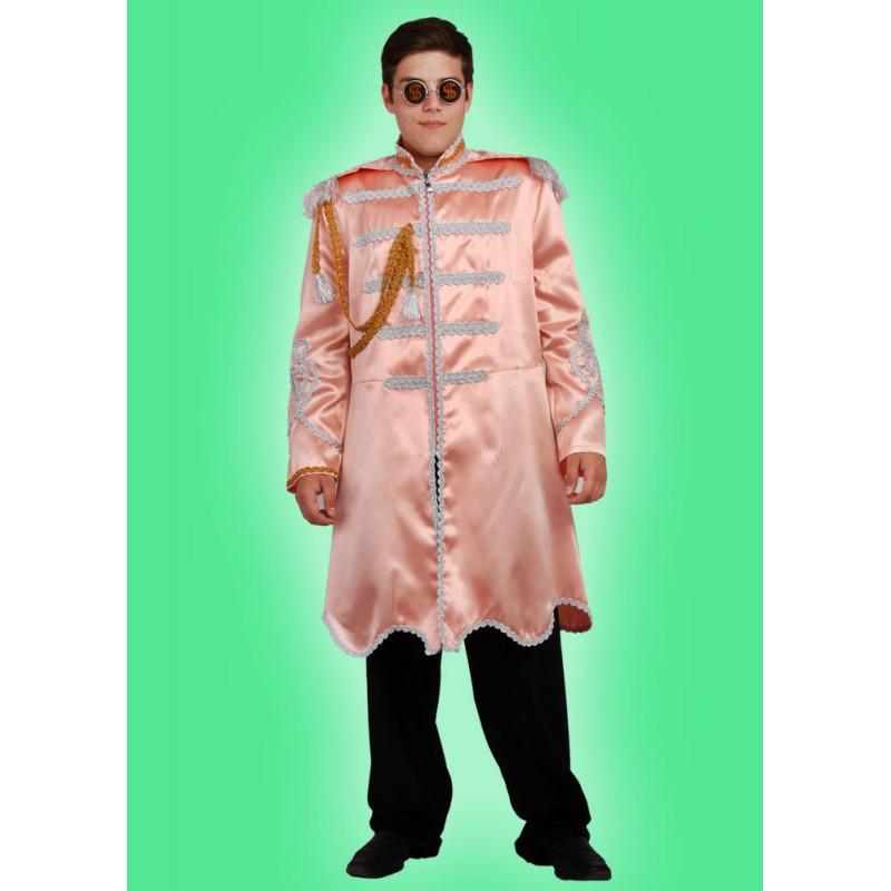 Karnevalový kostým HUDEBNÍK - plášť- možno různé barvy, bohatě zdobeno!