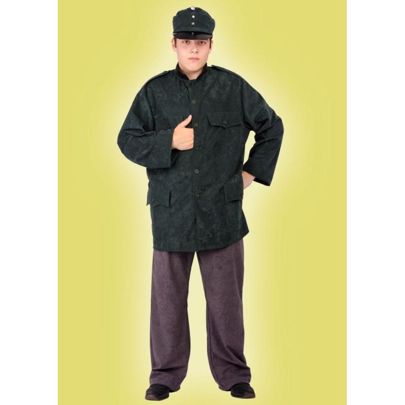 Karnevalový kostým ŠVEJK - horní díl, kalhoty, čepice