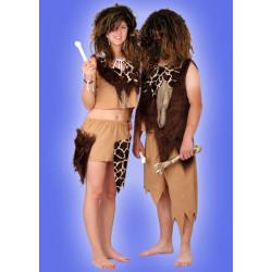 Karnevalový kostým PRAVĚK DĚVČE - horní díl, sukně