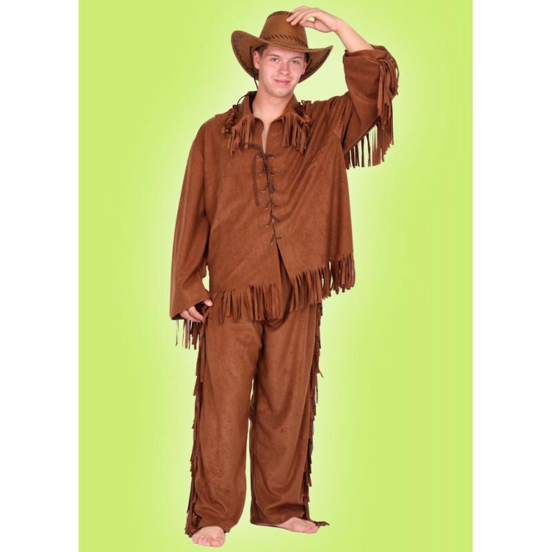 Karnevalový kostým WESTERN SET - horní díl, kalhoty