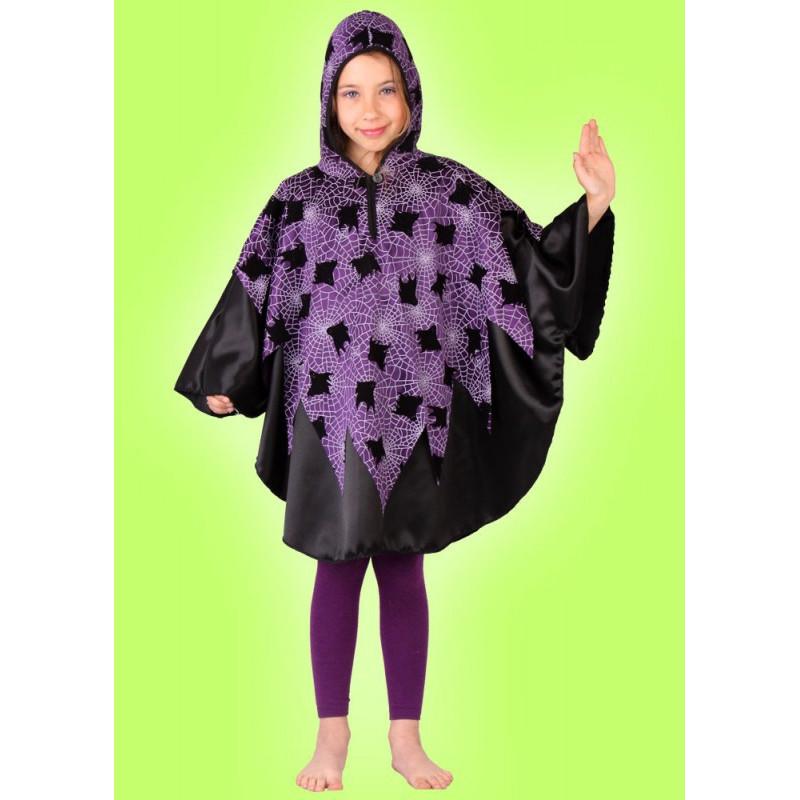 Karnevalový kostým DUCH - pelerína s kapucí