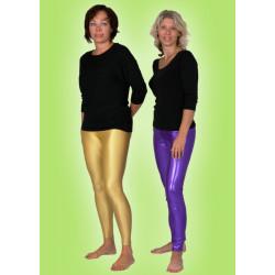 Karnevalový kostým ELAST. KALHOTY ZLATÉ - kalhoty