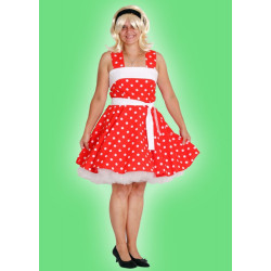 Karnevalový kostým ROCK´N ROLL ŠATY - šaty