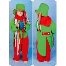 Karnevalový kostým VODNÍK - kalhoty, frak, klobouk, šátek